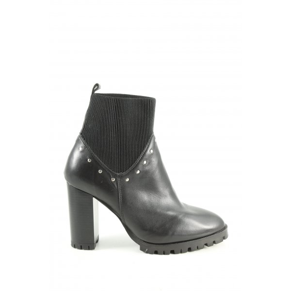 The Kooples Ankle Boots schwarz Business-Look