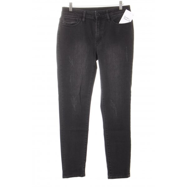 The Kooples Slim Jeans schwarz-anthrazit Casual-Look