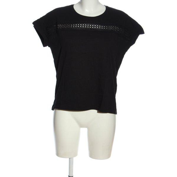 The Kooples T-Shirt black casual look