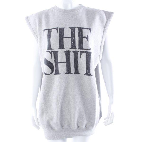 "The Shit Sweatshirt ""The Shit"" ärmellos Gr. 40"