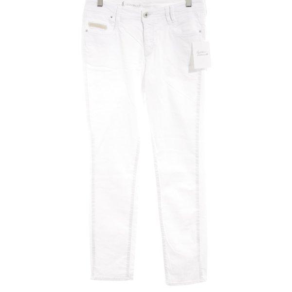 "Thomas Rath Slim Jeans ""Franz"" weiß"