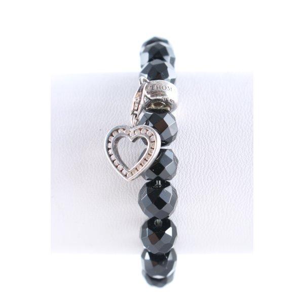 Thomas Sabo Armband schwarz-silberfarben Casual-Look