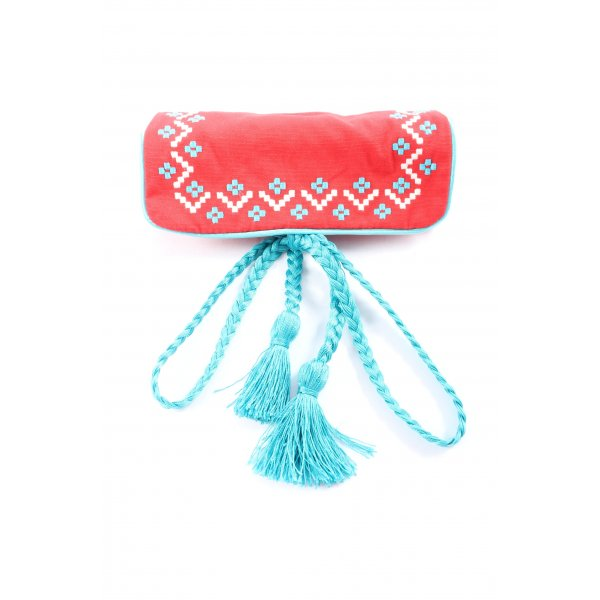Thomas Sabo Schlüsseletui rot-blau grafisches Muster Casual-Look