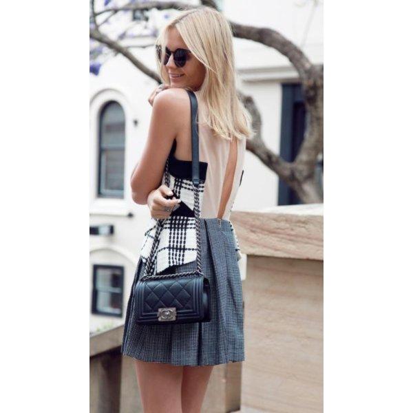 Three Floor Wixson Dress Luxus blogger chanel Abiball