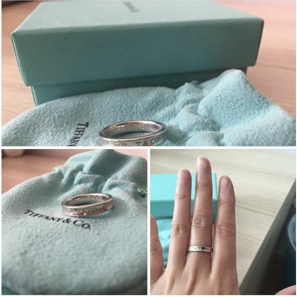 Tiffany & Co. Ring 925 Silber 53