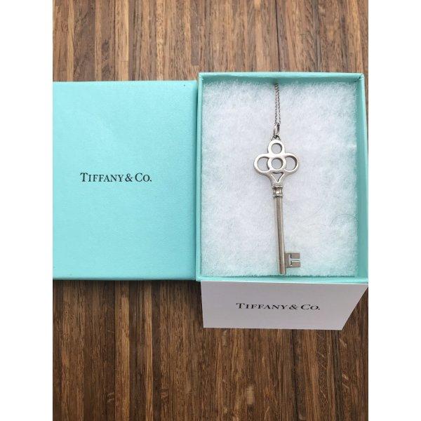 Tiffany & Co. Silberkette mit Schlüsselanhänger