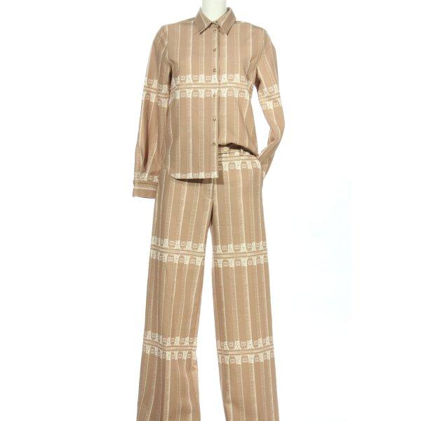 Tiger of sweden Strick Twin Set creme-weiß Allover-Druck Street-Fashion-Look