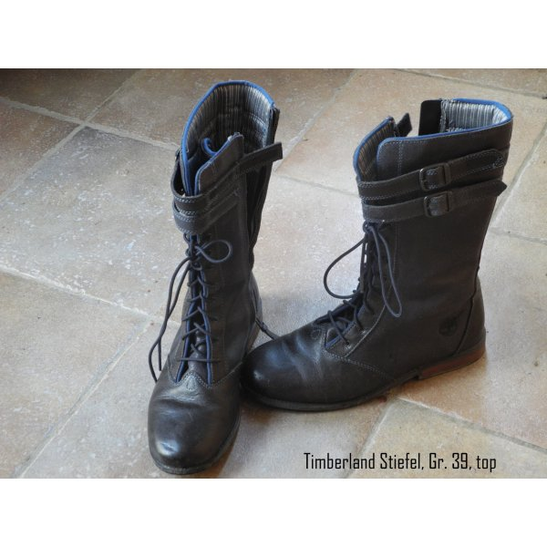 Timberland Korte laarzen donkerblauw
