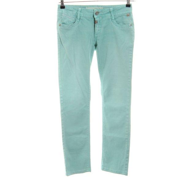 Timezone Skinny Jeans türkis Casual-Look