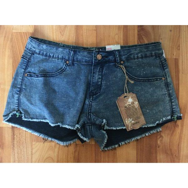 Tkmaxx Alcott kurze Hose neu mit Etikett hotpants jeans Shorts blau used look
