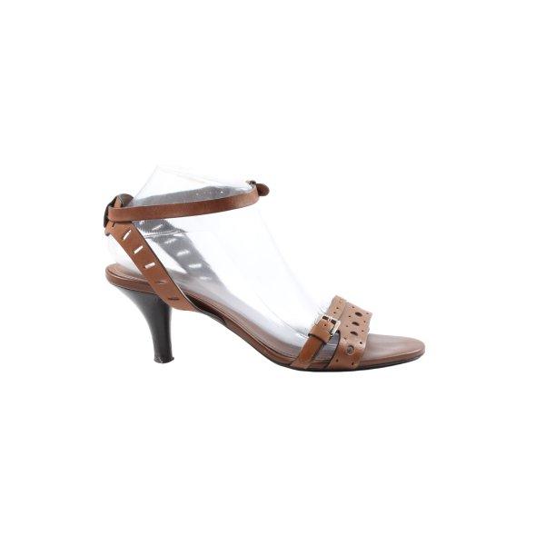 Tod's High Heel Sandaletten braun Casual-Look