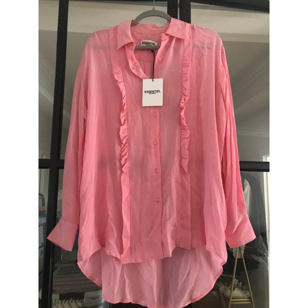 Tolle Bluse von Essential Antwerp in kräftigem rosa. Neu mit Etikett.