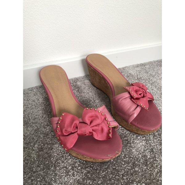 Tolle Keilabsatz Schuhe Gr. 37 von Via UNO