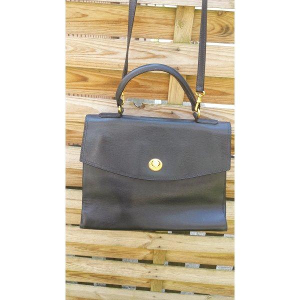 Tolle Trussardi Kelly Bag Italy Tasche Handtasche Kelle Bag Schultertasche Echt Leder