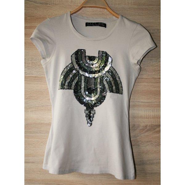 Zara T-shirt gris coton
