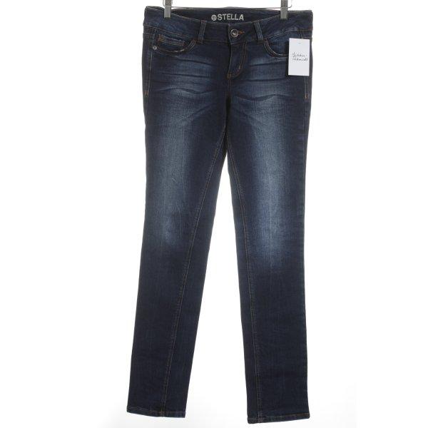 Tom Tailor Denim Skinny Jeans dunkelblau Casual-Look