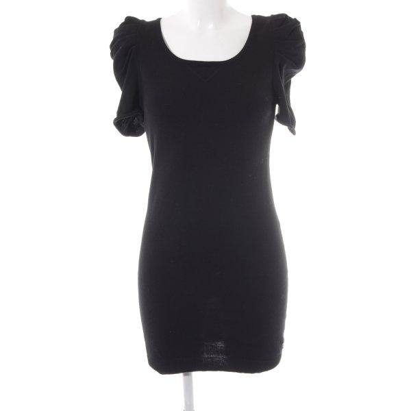 Tom Tailor Denim Gebreide jurk zwart
