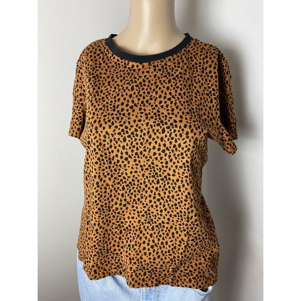 tom tailor gr s damen sommer tshirt braun gebraucht shirt bluse