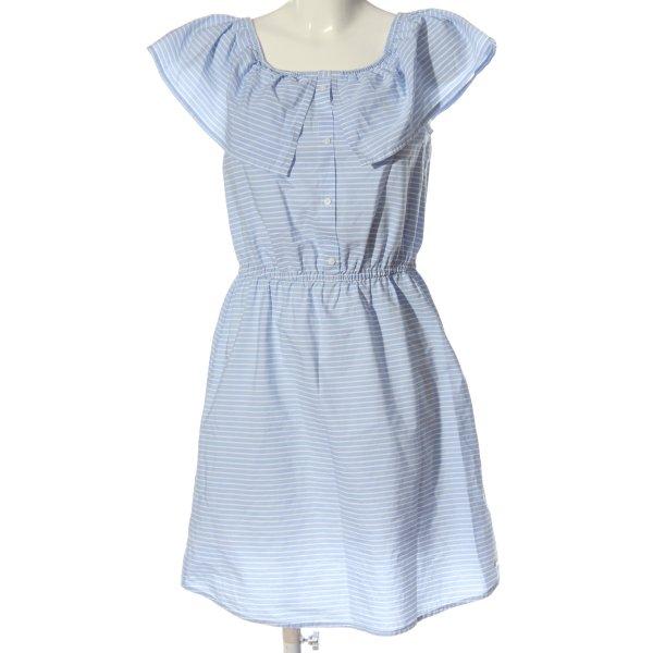 Tom Tailor Minikleid blau-weiß Streifenmuster Elegant