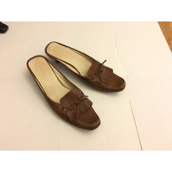 Tom Tailor Heel Pantolettes brown