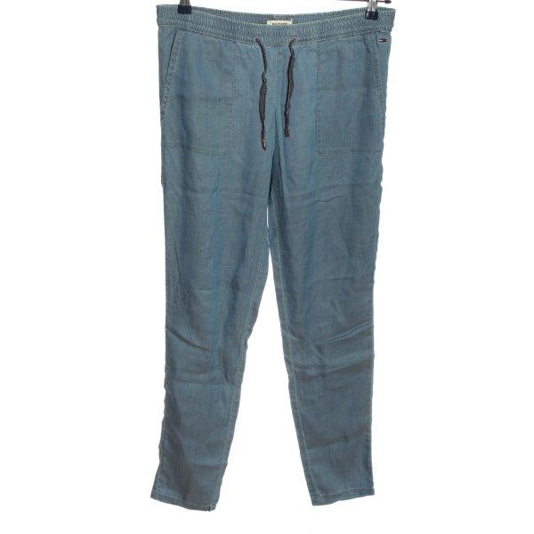Tommy Hilfiger Baggy Pants blau Casual-Look
