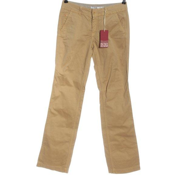 Tommy Hilfiger Five-Pocket-Hose braun Casual-Look