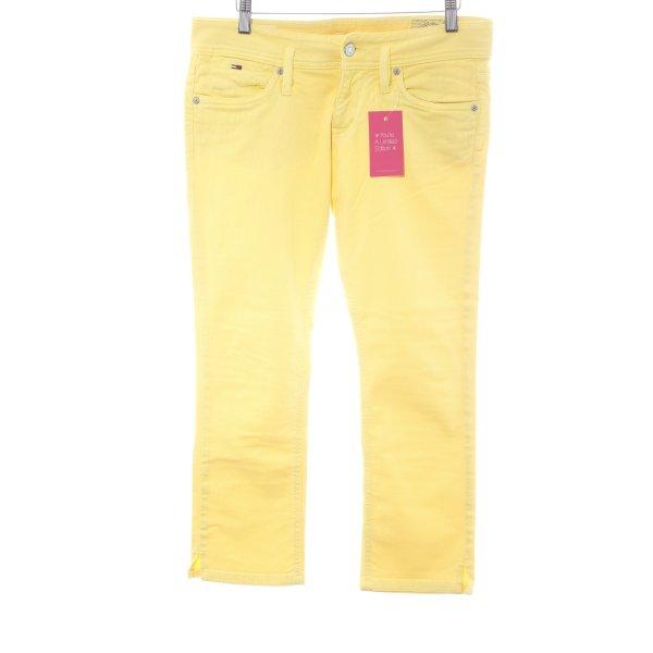 Tommy Hilfiger Five-Pocket-Hose gelb Casual-Look