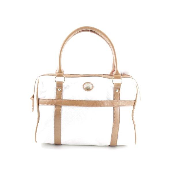 Tommy Hilfiger Handtasche weiß-nude Business-Look