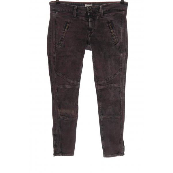 Tommy Hilfiger Hüftjeans lila Casual-Look