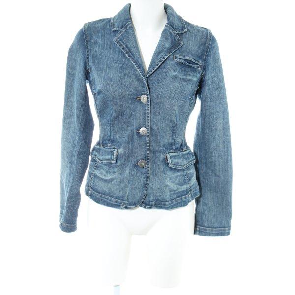 Tommy Hilfiger Jeansblazer blau Street-Fashion-Look