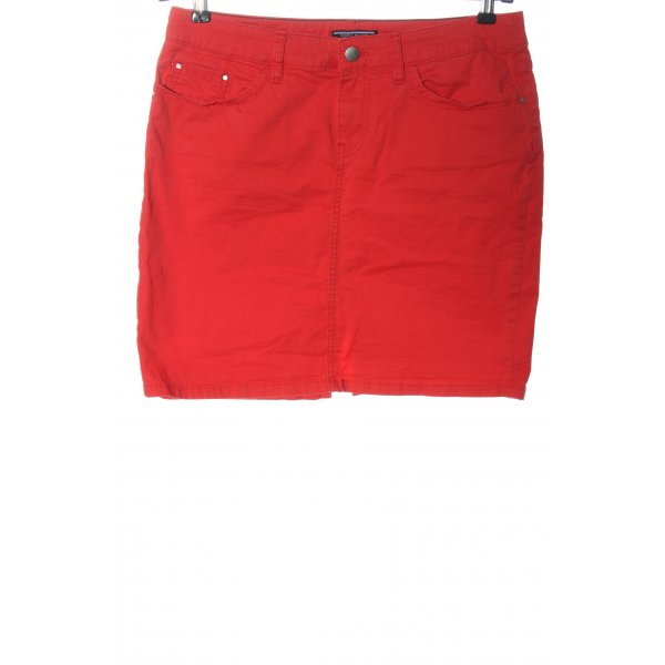 Tommy Hilfiger Jeansrock rot Casual-Look