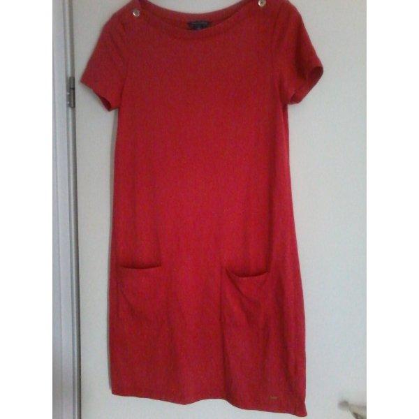 Tommy Hilfiger Kleid Kurzarm rot