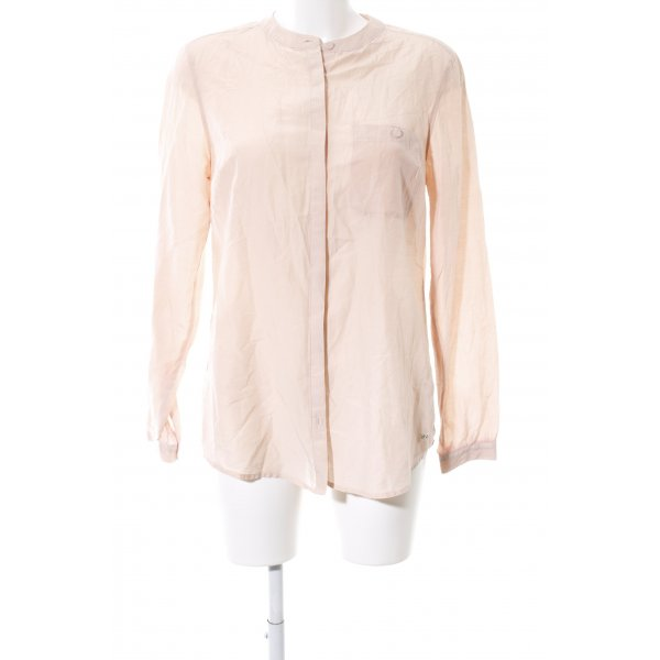Tommy Hilfiger Langarm-Bluse creme Casual-Look