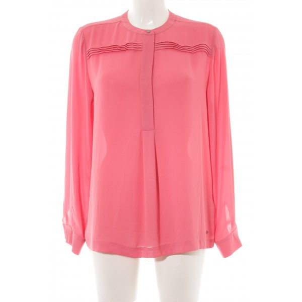 Tommy Hilfiger Langarm-Bluse lachs-pink Casual-Look
