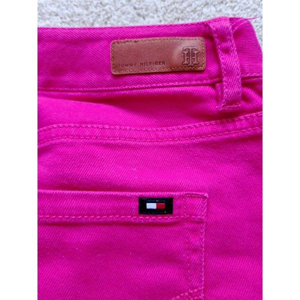 Tommy Hilfiger Rock Jeansrock Denim in pink Gr. 4