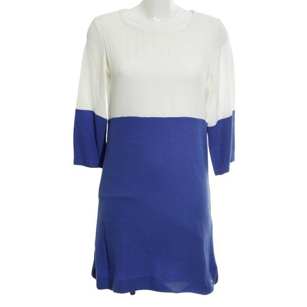 Tommy Hilfiger Shirtkleid weiß-blau