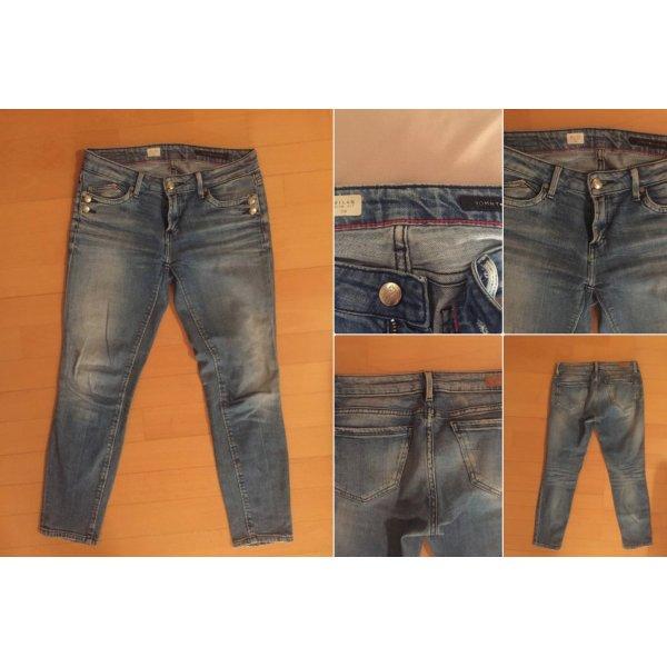 Tommy Hilfiger Skinny Jeans W26 blau 7/8