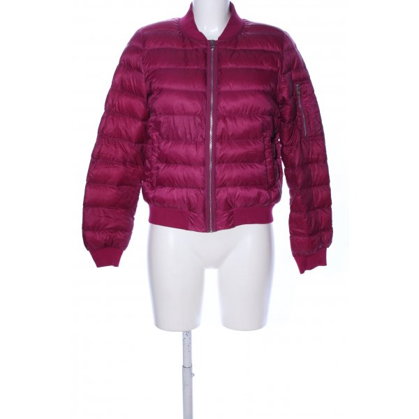 Tommy Hilfiger Steppjacke rot Steppmuster Casual-Look