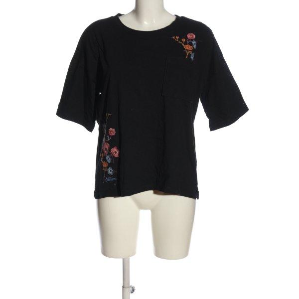 Tommy Hilfiger Strickshirt schwarz Casual-Look