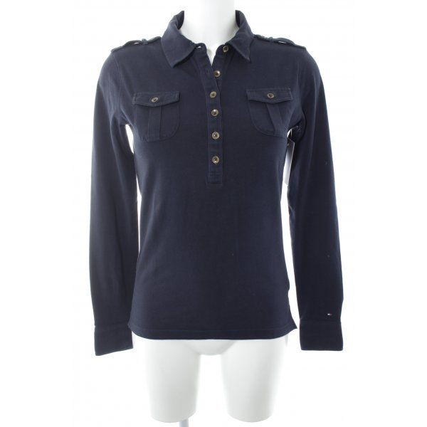 Tommy Hilfiger Sweatshirt dunkelblau Casual-Look