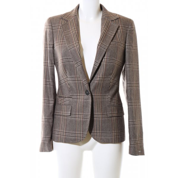 Tommy Hilfiger Woll-Blazer Karomuster Business-Look