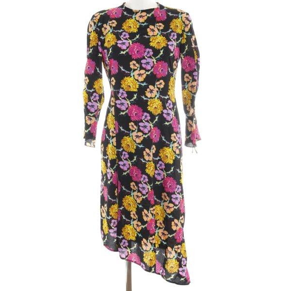 Topshop A-Linien Kleid Blumenmuster Business-Look
