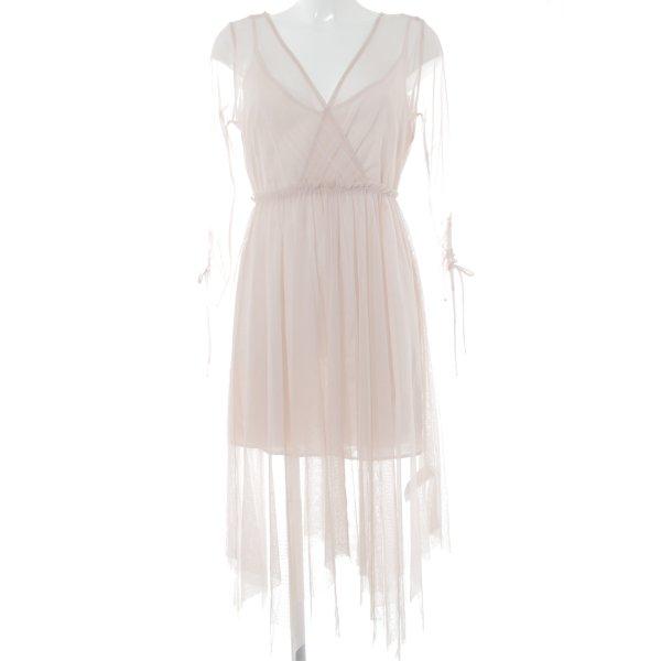 Topshop Abendkleid rosé Romantik-Look