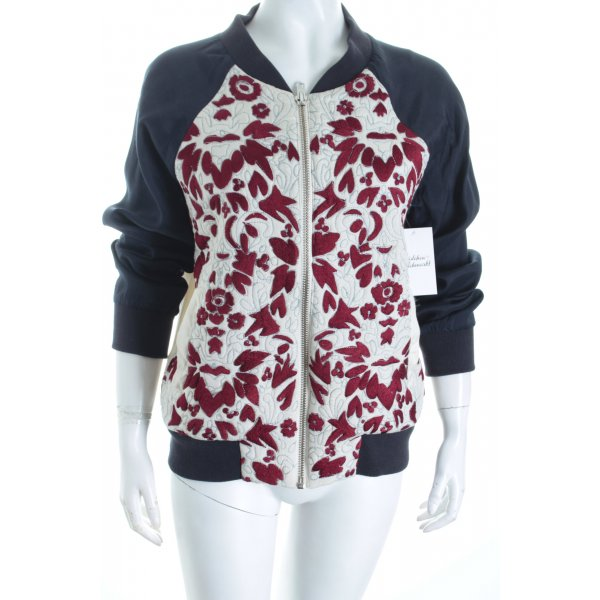 Topshop Blouson florales Muster Romantik-Look