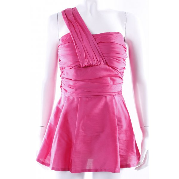 Topshop Corsagentop pink
