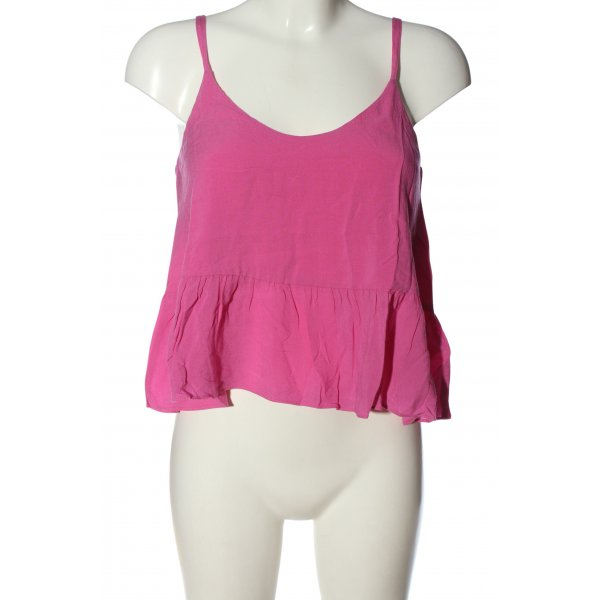 Topshop Cropped Top pink Casual-Look