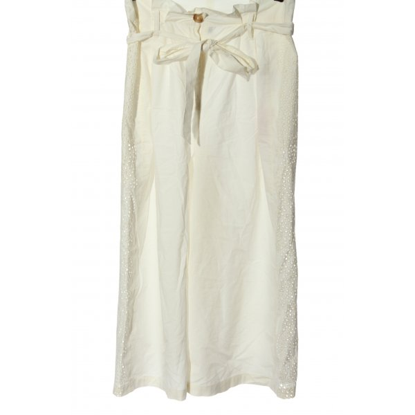 Topshop Culottes wollweiß Casual-Look