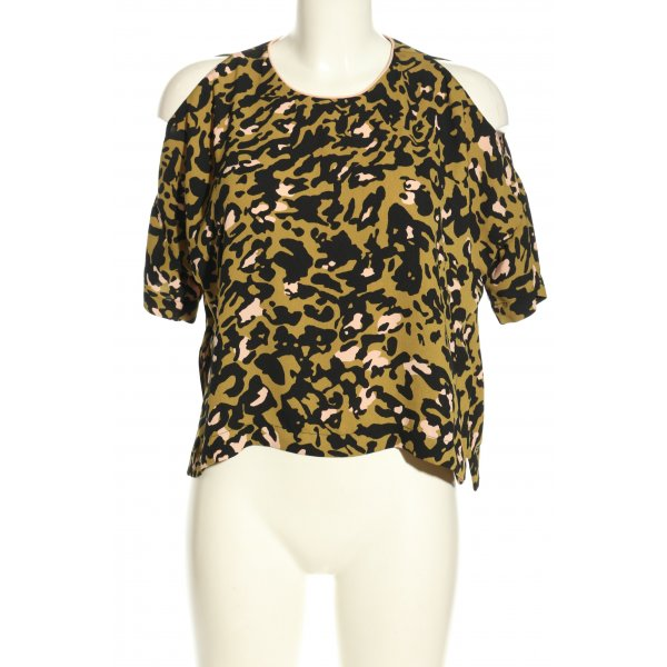 Topshop Cut-Out-Top Allover-Druck Casual-Look