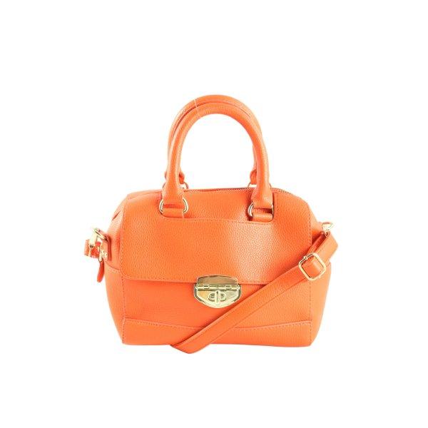 Topshop Handtasche hellorange-goldfarben Casual-Look