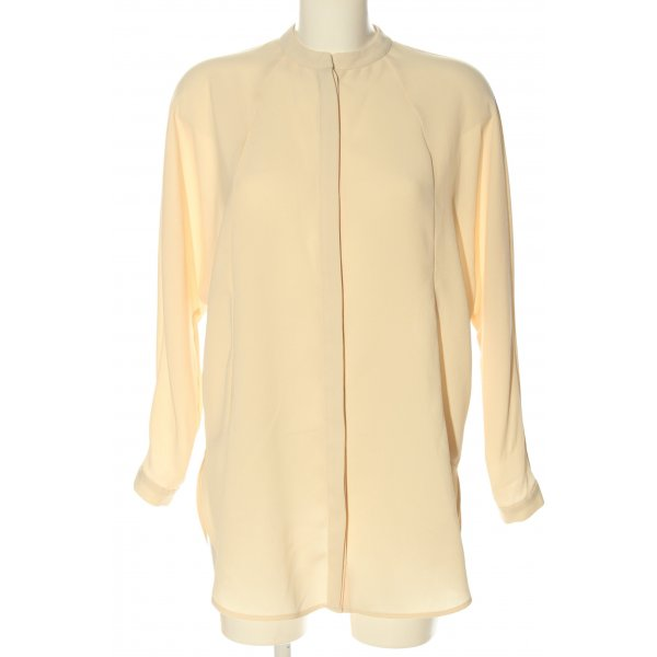 Topshop Hemd-Bluse nude Allover-Druck Casual-Look